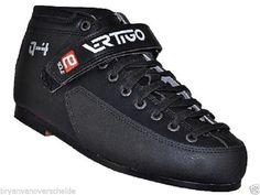 Luigino Vertigo Q-4 boots   q4 Quad skate boots  roller derby