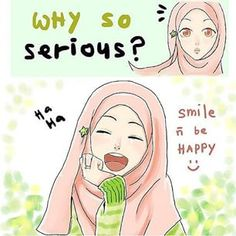just smile by cahaya-pemimpin on DeviantArt Girl Cartoon, Cute Cartoon, Hijab Drawing, Islamic Cartoon, Hijab Cartoon, Baby Drawing, Muslim Girls, Muslim Women, Cartoon Sketches