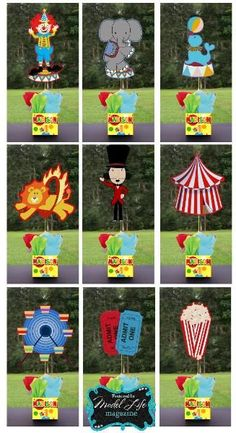 Circus Carnival Birthday Party
