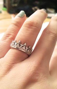 Crown Pave Ring ♡