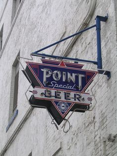 Point Special Beer sign, via Flickr.