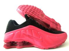 Nike Shox R4 Voltage Cherry Black Wmns Sz 11 Mens Sz 9 5 302874 600 | eBay