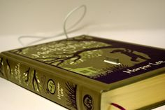 To Kill a Mockingbird Book Charging Dock for iPhone and iPod  http://www.etsy.com/listing/70812654/to-kill-a-mockingbird-book-charging-dock  $55