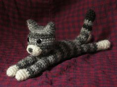Dandylion, Crochet Kitty Cat