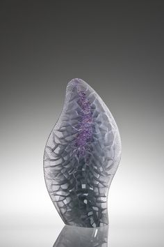 Michael Behrens Title: Seaforms 2015-166 Process: Kiln-cast glass Size: 25 x 14 x 5.5 Inches