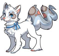 Viperfox - CLOSED by griffsnuff.deviantart.com on @DeviantArt Cute Animal Drawings, Animal Sketches, Kawaii Drawings, Cute Drawings, Cute Creatures, Mythical Creatures, Anime Animals, Cute Animals, Character Art