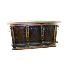 Rustic Pine Bar-Front