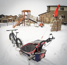 How to Fat Bike in the Snow with Kiddos