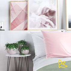 Decorating Your Bedroom With Rosé Quartz   The room looks serene and peaceful and is achieved so simply by using a few lovely pieces. Cushions are a great addition to any room as they make furnishings instantly look more inviting, so why not use a touch of pink in these items to make a house feel like a home?  Love,  Cozybanana Beautiful Houses Interior, Beautiful Homes, Rose Quartz, Pink Quartz, Cosy Interior, Interior Design, Make Design, Cozy House, Accent Chairs