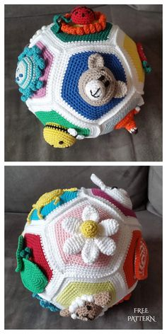 Crochet Ball, Crochet Baby Toys, Crochet Amigurumi, Cute Crochet, Knit Crochet, Crochet Baby Stuff, Crochet Pattern Free, Crochet Patterns Amigurumi, Knitting Patterns