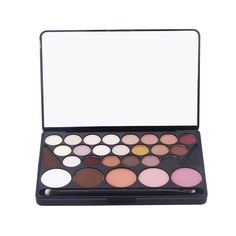 #SombradeOjos #Paletade28Colores #MaquillajeProfesional Be your own makeup artist. ¿Cómo te atreves pasar?