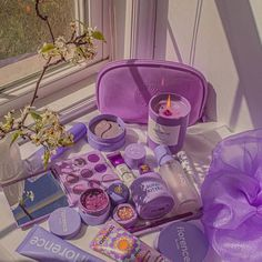 Violet Aesthetic, Lavender Aesthetic, Aesthetic Makeup, Purple Makeup, Pretty Makeup, Colourpop Cosmetics, Beauty Makeup Tips, Makeup Tricks, Makeup Ideas