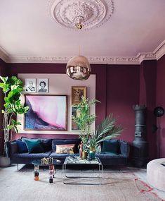 310 best purple walls images in 2019 colors dining room purple rooms rh pinterest com