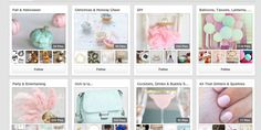Pastel themed Pinterest cover boards (I think this one is my fav)