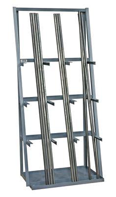 14 Gauge Steel Vertical Long Parts Storage Rack