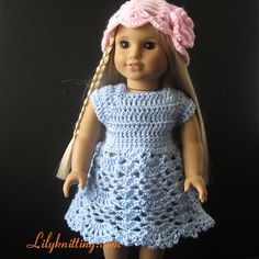 Over 50 Free Crochet Doll Clothes Patterns! - I wonder if some of these would fit Miss Kitty from Build-A-Bear?