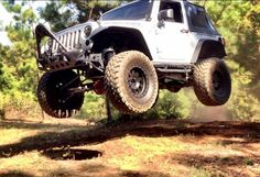 Jeep Wrangler Catching Air The Best Jeep Dealership in New Jersey #thejeepstore