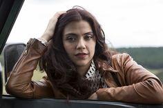"""No ar na novela """"Além do tempo"""", Letícia Persiles lidera a lista dos cabelos mais deseja..."""