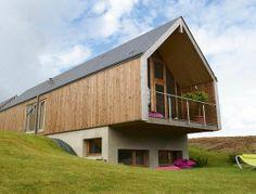 Une maison écologique - 130 m2 pour une maison en bois tip top - CôtéMaison.fr