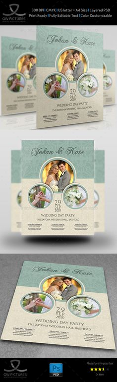 Rent a Car Flyer Template Flyer template, Font logo and Logos - wedding flyer