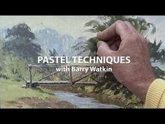 Пастельные техники с Барри Уоткин - Ютуб