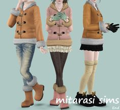 New outfit by Mitarasi