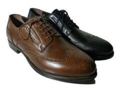 Italian wingtip shoes for men by Nero Giardini