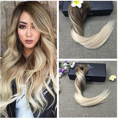 Clip hair Extensions #8#60