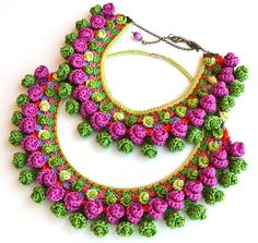 Your place to buy and sell all things handmade Crochet Jewelry Patterns, Doily Patterns, Crochet Accessories, Crochet Flower Tutorial, Crochet Flowers, Crochet Lace, Tiffany Earrings, Freeform Crochet, Tricot