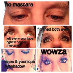 Me using the Younique Products. Contact me plz for more information
