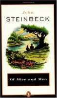 Reading for July 2015: Of mice and men / John Steinbeck. Pick up your copy of this classis at the library