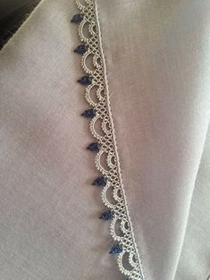 Newest Needle Lace Models Page – 3 Newest Needle Lace … – Hair World Ideas Crochet Edging Patterns, Crochet Lace Edging, Crochet Borders, Baby Knitting Patterns, Crochet Stitches, Embroidery Stitches, Hand Embroidery, Embroidery Designs, Needle Tatting