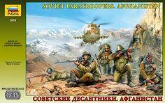 Zvezda soviet paratroopers - Modeledo.pl
