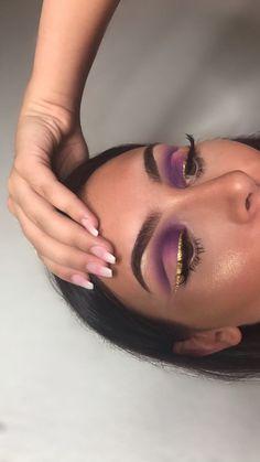 Gorgeous Makeup: Tips and Tricks With Eye Makeup and Eyeshadow – Makeup Design Ideas Cute Makeup, Glam Makeup, Pretty Makeup, Skin Makeup, Eyeshadow Makeup, Makeup Art, Beauty Makeup, Eyeshadows, Awesome Makeup