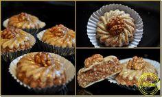 M'chekel ou M'chekla, un gâteau Algérien aux noix et amandes, c'est ce que je vous propose aujourd'hui et ce que j'ai préparé pour l'Aid . Vous pouvez les préparer avec différentes farce (noisettes), les pincer et les découper de différentes formes. Une...