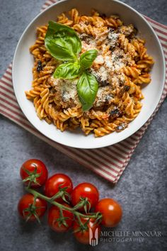 Pasta alla Norma hails from the Catania region in Sicily, comprising aubergines, tomatoes and ricotta.