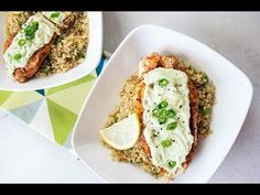 This dish a 10. Why? It can be totally prepped in 10 minutes and has less than 10 ingredients! Plus, it's a great way to change up a boring piece of chicken. You'll love the flavors this recipe offers!Pro tip: If you have leftovers, the avocado cream sauce freezes and thaws perfectly! Freeze it in [...]