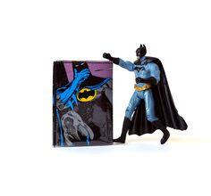 Portemonnaie BATMAN D.C. Comic upcycling Unikat! Geldbörse, Brieftasche…