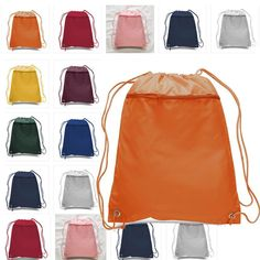 Polyester Cheap Drawstring Bags with Front Pocket - Herzlich willkommen Cheap Totes, Cheap Tote Bags, Canvas Tote Bags, Wholesale Tote Bags, Cheap Backpacks, Sack Bag, Drawstring Backpack, Cool Style, Summer Outfits