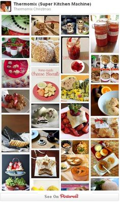 Big list of inspiring photos and links for helpful Thermomix Christmas recipes. Check to see what other Thermomix fans are mixing up to serve at festive tables and gourmet gifting. Christmas Food Gifts, Christmas Recipes, Christmas Cooking, Christmas Stuff, Paneer Cheese Recipes, Almond Milk Rice Pudding, Coconut Butter Recipes, Smoked Oysters, Meat Fruit