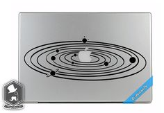 MacBook TV Commercial Galaxy Planets Orbiting by VinylAptitude, $5.99