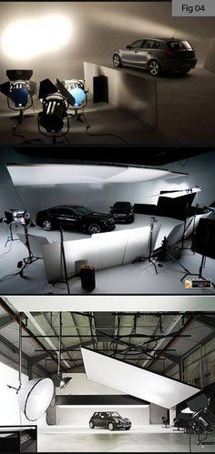 Studio Lighting Setups, Photography Lighting Setup, Industrial Photography, Studio Setup, Photo Lighting, Automotive Photography, Advertising Photography, Photography Tutorials, Light Photography