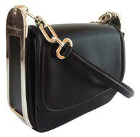 Salvatore Ferragamo Adele Nero Crossbody Shoulder Bag $1070.50
