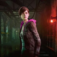 Moira Burton - Resident Evil: Revelations 2. Moira Burton, Resident Evil Video Game, Stupid Guys, Revelation 2, Video Game Companies, Horror Video Games, Dead Zombie, Zombies, Movies And Tv Shows