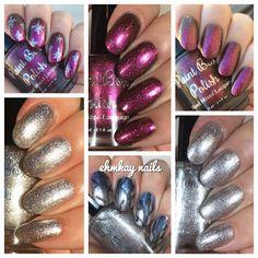 ehmkay nails: Paint Box Polish Snowy Evening and Sanguine Stars Black Friday Duo + Black Friday Sales!