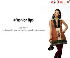 Being too slim is not at all a problem   #Slim   #FashionTips   #NalluCollection