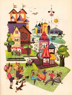 #vintage #illustration #children