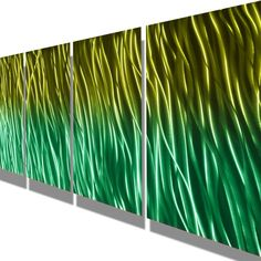 Metal Wall Art Abstract Decor Contemporary Modern by milesshay, $110.00