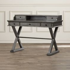 Found it at Wayfair - Deerfield Writing Desk with 5 Drawers