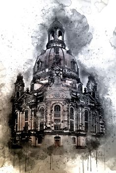 Germany, Saxony, Dresden, Frauenkirche, Landmark